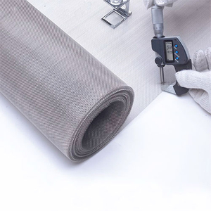 Stainless Steel Plain Weave Mesh